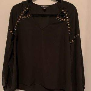 Rock and republic studded top